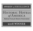 Historic Hotels of America 2018 winner