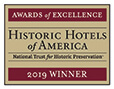 Historic Hotels of America 2019 winner