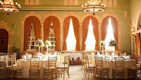 Reception in The Castilian Room