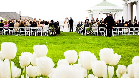 Ceremony in The Formal Gardens