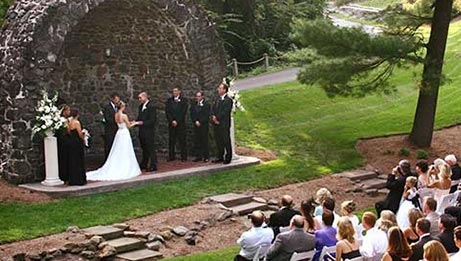 Ceremony in The Rock Gardens