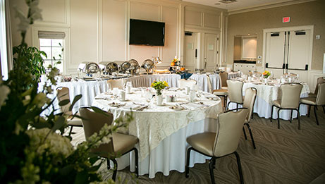 Reception in Blue Mountain Room