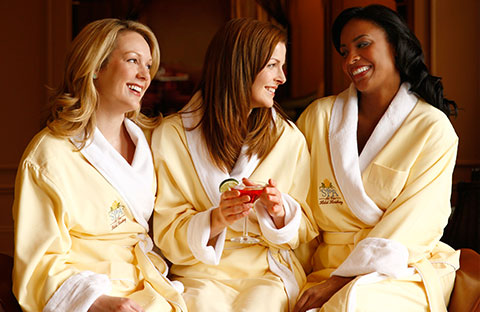 Friends at The Spa