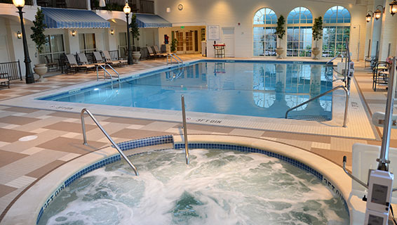 Hotel indoor pool  The Hotel Hershey - Pools & Facilities